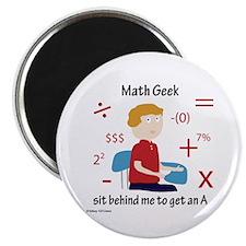 Math Geek Magnet