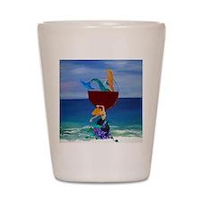 Mermaid Wine Shot Glass