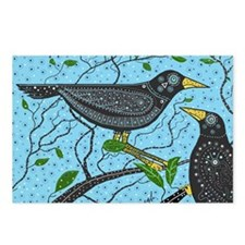 Crows Postcards (Package of 8)