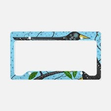 Crows License Plate Holder