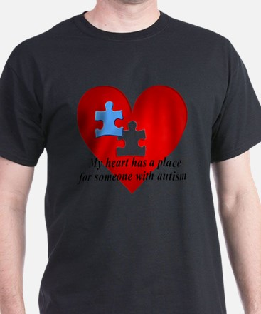 My heart has a place for someone with T-Shirt