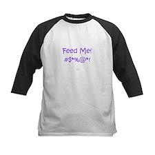 'Feed Me!' (purple letters) Tee