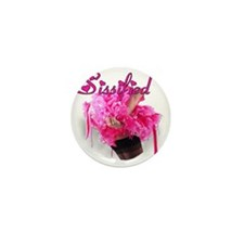 Sissified - Pink Mini Button
