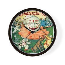 Vintage Pontchartrain Beach Clown Wall Clock