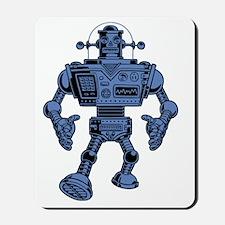 robot-313-bluT Mousepad