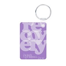 Purple Recovery Keychains