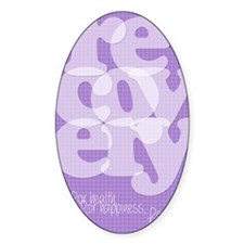 Purple Recovery Decal