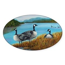 Canada Geese at Lake Lure Decal