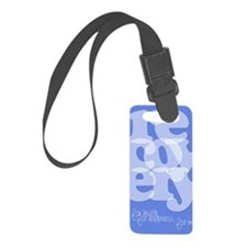 Blue Recovery Luggage Tag