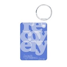 Blue Recovery Keychains