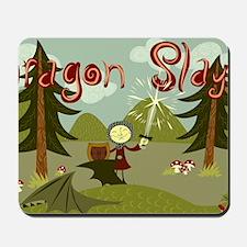 Dragon Slayer Mousepad