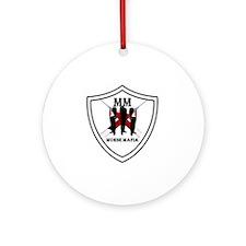 Murse Mafia Round Ornament
