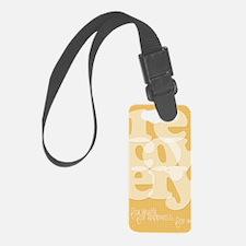 Orange Recovery Luggage Tag