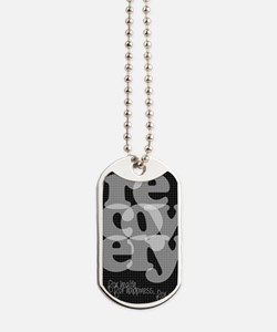 Black Recovery Dog Tags