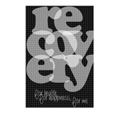Black Recovery Postcards (Package of 8)