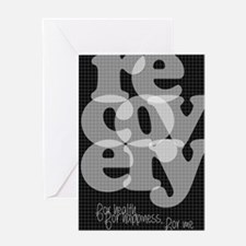 Black Recovery Greeting Card