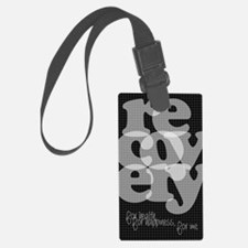 Black Recovery Luggage Tag