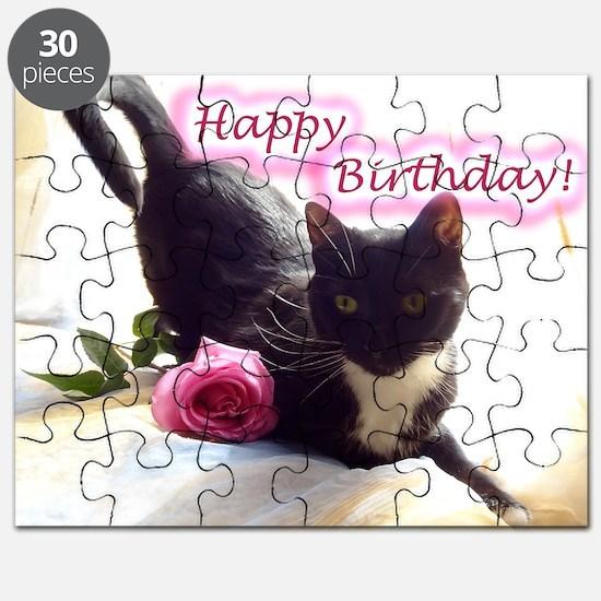 Happy Birthday Kitty Puzzle