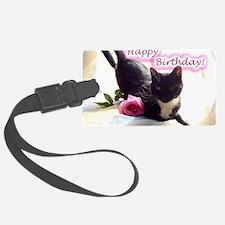 Happy Birthday Kitty Luggage Tag