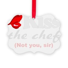 kiss chef Ornament