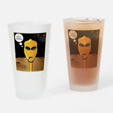 Alienated Drinking Glass