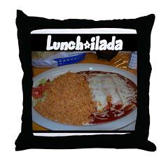 Lunch-ilada! Throw Pillow