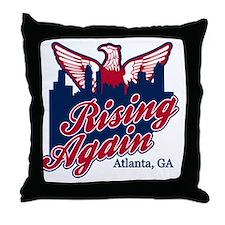Rising Again Throw Pillow