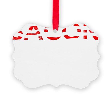 Bacon Makes Everything Better Picture Ornament