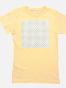 Yellow Polka Dot D2 Girl's Tee