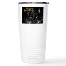 Stern Birthday Kitty Travel Mug
