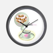 coffee.doughnuts Wall Clock