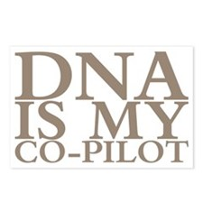 DNA is my co-pilot Postcards (Package of 8)