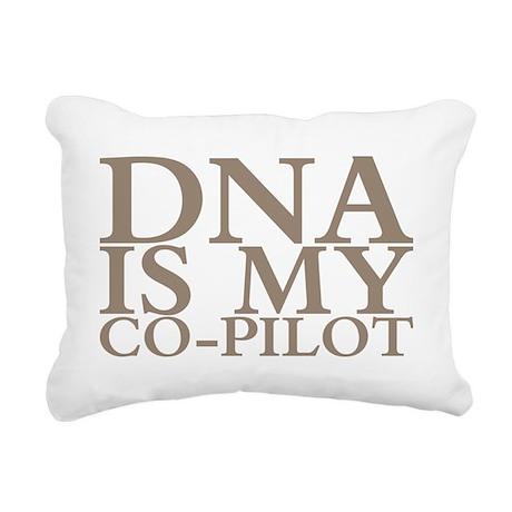 DNA is my co-pilot Rectangular Canvas Pillow