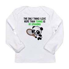 Tennis Grandma Long Sleeve T-Shirt