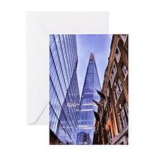The Shard - London Greeting Card
