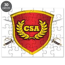 CSA Logo Puzzle