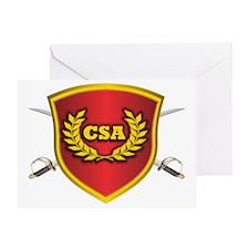 CSA Logo Greeting Card