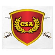 CSA Logo King Duvet