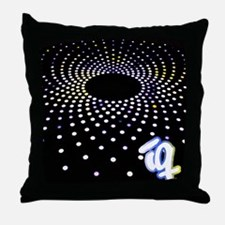 IQ Black Hole Throw Pillow