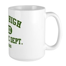 Mile High Athletic Dept. distressed Mug