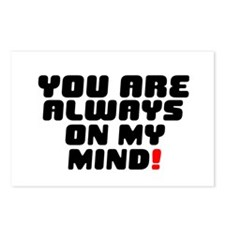 YOU ARE ALWAYS ON MY MIND Postcards (Package of 8)