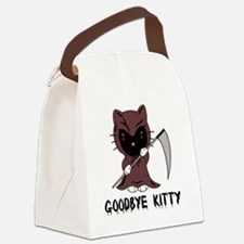 Goodbye Kitty Canvas Lunch Bag
