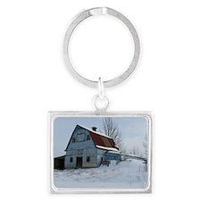 Bailey Barn Landscape Keychain