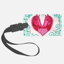 Curly Victoria Luggage Tag