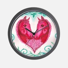 Curly Victoria Wall Clock