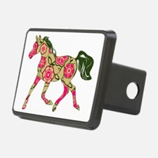 Floral Horse Hitch Cover