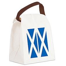Scottish Flag Canvas Lunch Bag