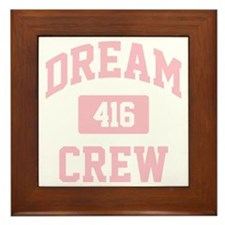 Dream Crew Framed Tile