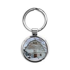 Bailey Barn Round Keychain