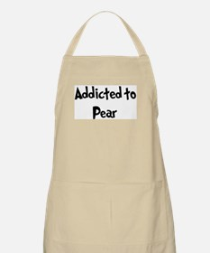 Addicted to Pear BBQ Apron